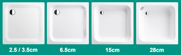 Bette 1500 x 1000mm Rectangular Shower Tray