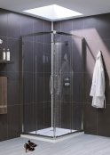 Lakes Semi-Frameless Corner Entry Shower Door