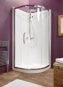 Kubex Eclipse Quadrant with Single Door 900 Shower Cubicle