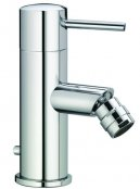 Laufen Twin Prime Pin Chrome Monobloc Bidet Mixer - 110mm
