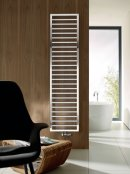 Zehnder Subway Electric White Radiator with Simple Immersion, IPX5
