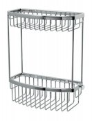 Miller Classic Two Tier D-Shaped Basket