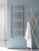 Zehnder Klaro Electric White Radiator with Simple Immersion, IPX5