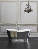 Burlington Bathrooms Balthazar White Soaking Tub