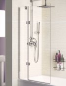 Lakes 8mm Hinged Bath Screen