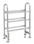 Bayswater Benjamin 780 x 685mm Chrome Towel Rail