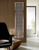 Zehnder Subway Electric Chrome Radiator with Infra-red Control