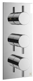 Crosswater Mike Pro Double Outlet Thermostatic Shower Valve