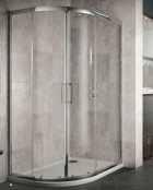 Sommer 8 Double Offset Door Quadrant Shower Enclosure 1000 x 800mm