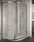 Sommer 8 Double Offset Door Quadrant Shower Enclosure 900 x 760mm