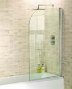 Aquadart Venturi 8 Round Edge 1400mm Bath Screen