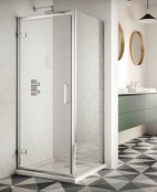 Sommer 8 Hinge Door Shower Enclosure 800mm