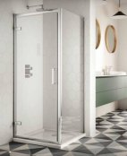 Sommer 8 Hinge Door Shower Enclosure 900mm