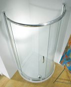 Kudos Infinite 910mm Curved Sliding Door Shower Enclosure