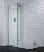 Aquadart 1500mm Wetroom with Hinged Return Panel