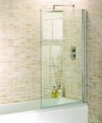 Aquadart Venturi 8 Square Edge 1400mm Bath Screen
