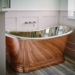 BC Designs Copper/Nickel Boat Bath 1700mm