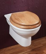 Silverdale Victorian Wall Mounted WC