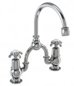 Burlington Birkenhead Bridge Basin Mixer with Curved Spout