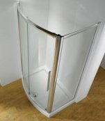 Kudos Original Bowed Front Slider Door Shower Enclosure