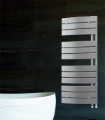 Lazzarini Pieve Design Anthracite 1380 x 500mm Towel Warmer