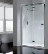 April Prestige 2 Frameless Hinge Door Shower Enclosure