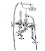Marflow Ferrada Deck Mounted Bath Shower Mixer with Kit