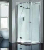 April Prestige 2 Frameless Single Door Quadrant