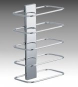 Inda Hotellerie Chrome Towel Rack