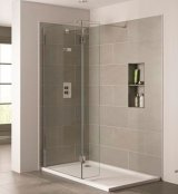 April Prestige Frameless Wetroom Return Panel