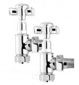 Essential 15mm Chrome Cross Head Valve (Pair)