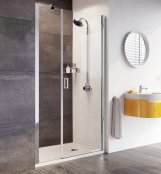 Roman Innov8 1200mm Pivot Door with In-line Panel
