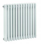 Bayswater Nelson Triple 600 x 606mm White Radiator