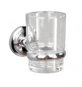 Miller Oslo Chrome Tumbler & Holder