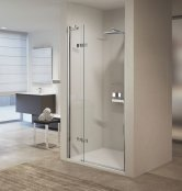 Novellini Gala 1B Frameless Hinged Shower Enclosure