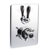 St James Classical Concealed Thermostatic Shower Valve with Diverter