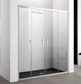 Novellini Zephyros 2A Double Slider Shower Enclosure