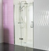 Roman Decem x 1000mm Hinged Door with Hinged Inline Panel