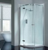 April Prestige Frameless Single Door Quadrant