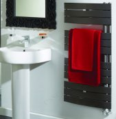 Essential Aries Anthracite 1080 x 550mm Deluxe Towel Warmer