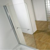Kudos Single Panel Bath Screen (6mm Glass)