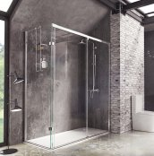 Roman Decem x 1200 x 800mm Sliding Door with Finger Pull Handle