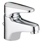 Bristan Jute Basin Mixer with Eco-Click and Pop-up Waste