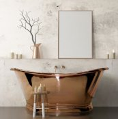 BC Designs Copper Boat Bath