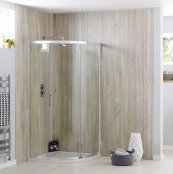 Sommer 6 Single Door Quadrant Shower Enclosure 900 x 900mm
