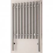 RAK 800 x 800 Parthenon Chrome Radiator