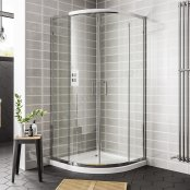 Spring 800mm Double Door Quadrant Shower Enclosure