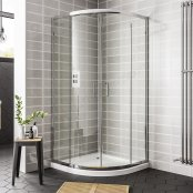 Spring 900mm Double Door Quadrant Shower Enclosure
