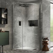 Kudos Pinnacle 8 900mm Quadrant Shower Enclosure
