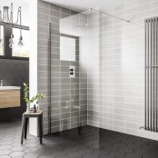 Spring 900mm Wetroom Panel